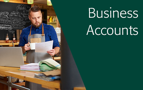 Click here for more information about business accounts.