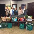 Paris Branch preparing to donate food to Compassionate Food Ministries