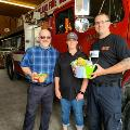 Oakland gives care package to Oakland Volunteer Fire Department