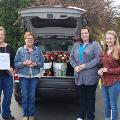 Oakwood Branch delivers Flowers to local nursing home residents and nurses
